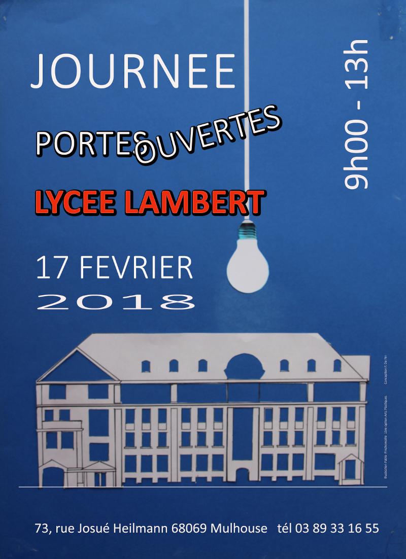 Lyc e jean henri lambert 73 rue josu heilmann 68100 - Lycee henri wallon valenciennes portes ouvertes ...