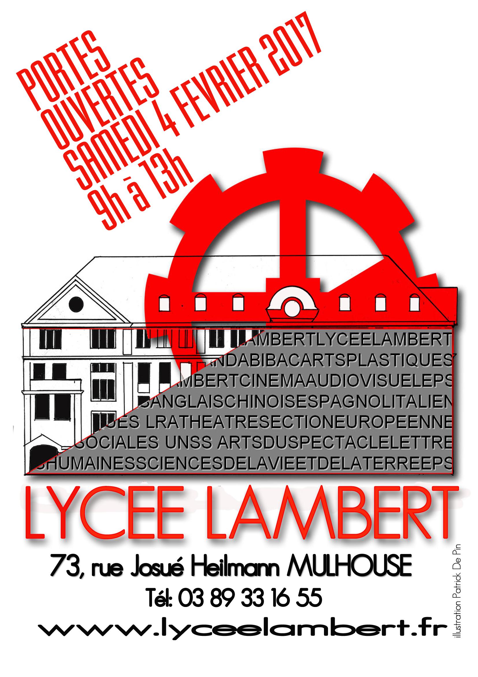 Lyce jean henri lambert 73 rue josu heilmann 68100 mulhouse - Lycee henri wallon valenciennes portes ouvertes ...